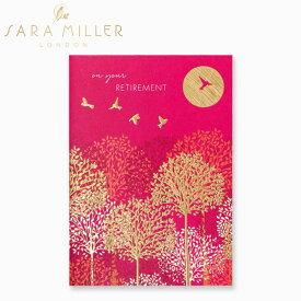 サラミラー グリーティングカード リタイアメント バーズ カードSARA MILLER RETIREMENT BIRDS CARDブランド デザイナーズ カード UK ロンドン SAM36ギフト プレゼント