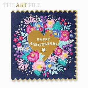 アートファイル グリーティングカード ハッピー アニバーサリーTHE ART FILE GREETING CARD HAPPY ANNIVERSARYブランド デザイナーズ カード UK SU19Aギフト プレゼント 父の日
