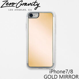 ゼログラビティ アイフォン ケース アイフォン 7 / 8 ゴールド ミラー ZEROGRAVITY iPhone 7 / 8 GOLD MIRRORアイフォン ケース ブランド LAブランド iPhone7/8 GOLD MIRRORスマホ ギフト プレゼント