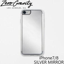 ゼログラビティ アイフォン ケース アイフォン 7 / 8 シルバー ミラー ZEROGRAVITY iPhone 7 / 8 SILVER MIRRORアイフォン ケース ブランド LAブランド iPhone7/8 SILVER MIRRORスマホ ギフト プレゼント