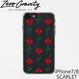 ゼログラビティ アイフォン ケース アイフォン 7 / 8 スカーレット ZEROGRAVITY iPhone 7 / 8 SCARLETアイフォン ケース ブランド LAブランド iPhone7/8 SCARLETスマホ ギフト プレゼント 父の日