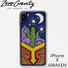 ゼログラビティ アイフォン ケース アイフォン テン アウェーケン ZEROGRAVITY iPhoneX AWAKENブランド LAブランド スマホ ケース iPhoneX AWAKENギフト プレゼント