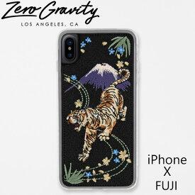 ゼログラビティ アイフォン ケース アイフォン テン フジ ZEROGRAVITY iPhoneX FUJIブランド LAブランド スマホ ケース iPhoneX FUJIギフト プレゼント