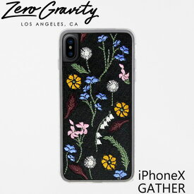 ゼログラビティ アイフォン ケース アイフォン テン ギャザー ZEROGRAVITY iPhoneX GATHERブランド LAブランド スマホ ケース iPhoneX GATHERギフト プレゼント