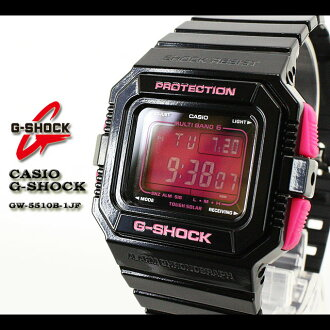 ★ ★ CASIO/G-SHOCK/G shock G-shock wave watches watch /GW-5510B-1JF/black/PINK