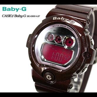 ★ ★ CASIO/G-SHOCK/g-shock g shock G shock G-shock baby-g baby G ladies BG-6900-4JF/bordeaux ladies / watch