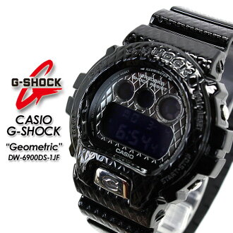 CASIO/G-SHOCK/g-shock g shock G shock G-shock geometric watch / DW-6900DS-1JF PIC