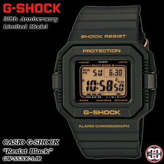 CASIO and g-shock wave solar resist black 30th anniversary commemorative limited edition model watch / GW-5530C-1JR g-shock g shock G shock G-shock deals