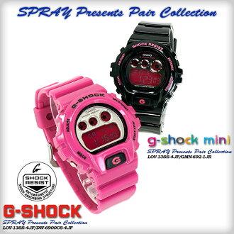 CASIO g-shock G-shock G-shock display presents pair collection LOV-13SS-4JF (DW-6900CS-4JF/GMN-692-1JR) Watch lov-12-7jr