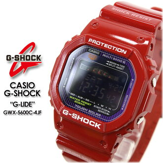 ★ domestic genuine ★ ★ ★ CASIO and g-shock wave solar g-shock g shock G shock G-shock ジーライド watch / GWX-5600C-4JF