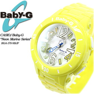 Baby G neon & marine series BGA-170-9BJF women ladies watch g-shock g-shock mini