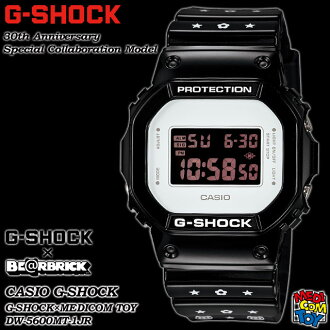 ★ domestic regular ★ ★ ★ CASIO/G-SHOCK/G shock G-shock 30th anniversary special collaboration model BE @RBRICK watch / MEDICOM toy / be@rbrick DW-5600MT-1JR