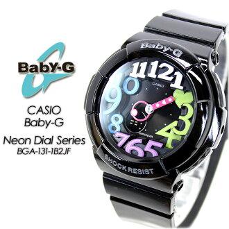 Baby G neon dial series BGA-131-1B2JF women ladies watch g-shock g-shock mini