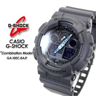 ★ domestic genuine ★ ★ ★ CASIO g-shock combination model watch / GA-100C-8AJF g-shock g shock G shock G-shock