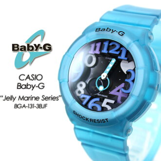 ★Lady's watch G-SHOCK g-shock mini for domestic regular article ★★★ baby G Jerry Malin series BGA-131-3BJF women