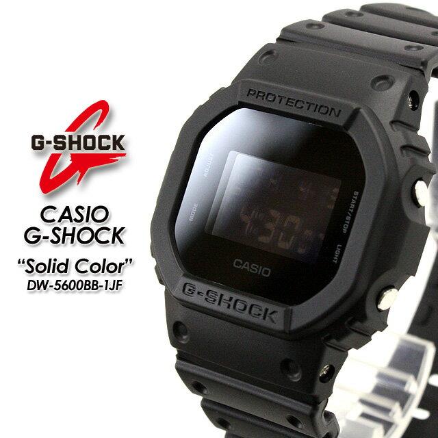 ★国内正規品★★送料無料★ G-ショック Gショック DW-5600BB-1JF CASIO G-SHOCK【カシオ ジーショック】ソリッドカラーズ【Solid Colors】腕時計