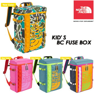 THE NORTH FACE KIDS BC FUSE BOX Backpack / Rucksack / children's NMJ71301