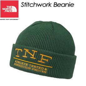 ★SALE30%OFF!★ THE NORTH FACE【ノースフェイス】Stitchwork Beanie 【ステッチワークビーニー】帽子 / ビーニー / ニット帽 / NN41513