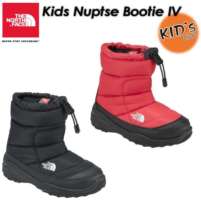 THE NORTH FACE 【ノースフェイス】Kids Nuptse Bootie 4 【ヌプシ ブーティー 4(キッズ)】長靴 / ブーツ / 子供用 NFJ51781