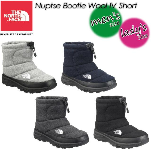 ノースフェイス【THE NORTH FACE】 ヌプシ ブーティー ウール 4 ショート(ユニセックス) 【Nuptse Bootie Wool 4 Short】男女兼用 メンズ レディース ブーツ 長靴 NF51879