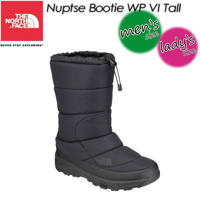 ノースフェイス【THE NORTH FACE】 ヌプシブーティーウォータープルーフ VIトール(ユニセックス) 【Nuptse Bootie WP VI Tall】男女兼用 メンズ レディース ブーツ 長靴 NF51872