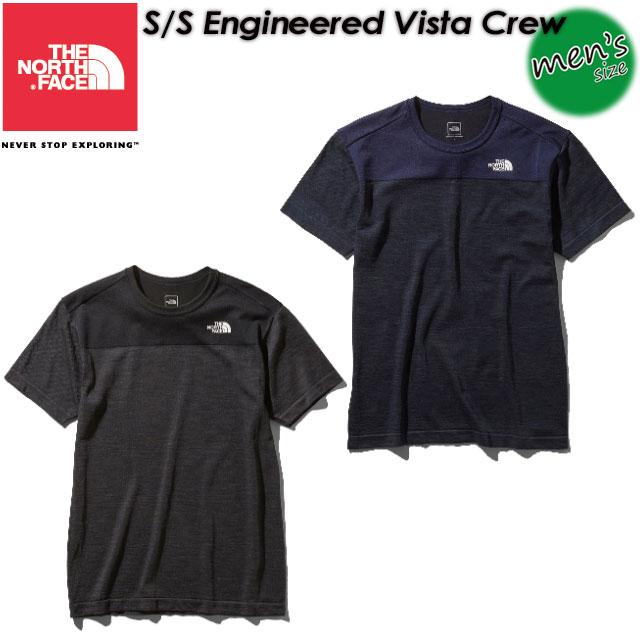 ノースフェイス【THE NORTH FACE】ショートスリーブエンジニアードビスタクルー【S/S Engineered Vista Crew】Tシャツ / 半袖 / アウトドア NT11904