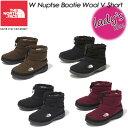ノースフェイス【THE NORTH FACE】 NFW51979 W ヌプシ ブーティー ウール 5 ショート【W Nuptse Bootie Wool 5 Short…