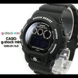 CASIO/G-SHOCK/G shock G-shock G- shock mini g-shock mini/ women watch GMN-691-1AJF/matte black Lady's [fs01gm]