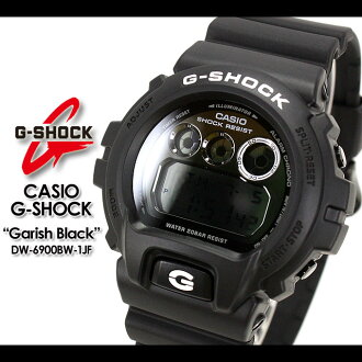 ★ ★ CASIO/G-SHOCK/g-shock g shock G shock G-shock garish Black Watch /DW-6900BW-1JF/matte black