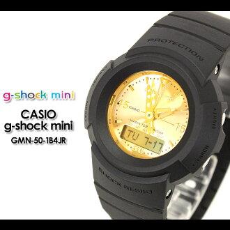 CSIO/g-shocy/g shock G shock G-shock g-shock mini g-shock mini ladies watch gmn-50-1b4jr/mtte blcy/gold ladies