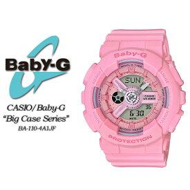 ★国内正規品★ ベビージー ベビーG ジーショック G-ショック BA-110-4A1JF 【Baby-G】ビッグ ケース シリーズ 【Pink Bouquet】女性用 レディース 腕時計 CASIO