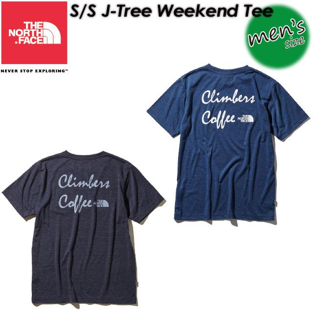 ノースフェイス【THE NORTH FACE】ショートスリーブジェイツリーウィークエンドティー【S/S J-Tree Weekend Tee】Tシャツ / 半袖 / アウトドア NT11937