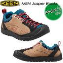★送料無料★ KEEN【キーン】MEN Jasper Rocks 【ジャスパー ロックス】 男性用 メンズ / ハイキング / アウトドアシューズ 1013301 Starfish/Racing Re