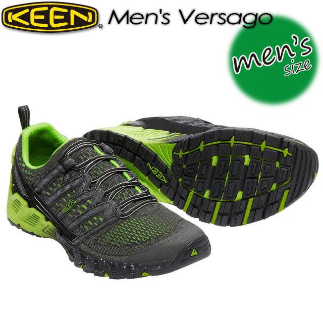★SALE30%OFF!送料無料★ KEEN【キーン】Men's Versago 【ヴァーサゴー】 男性用 メンズ / ハイキング / アウトドアシューズ 1016849 Black/Greenery