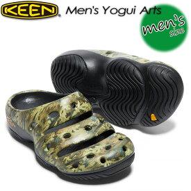 キーン【KEEN】ヨギ アーツ 【Men's Yogui Arts】 男性用 / サンダル / メンズ / アウトドア 1002034 CAMO GREEN
