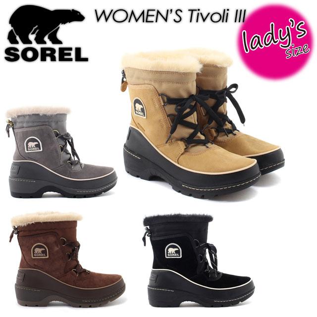 ★SALE30%OFF★ 【SOREL】ソレル 【Tivoli III】ティボリIII NL2532 ブーツ レディース 女性用