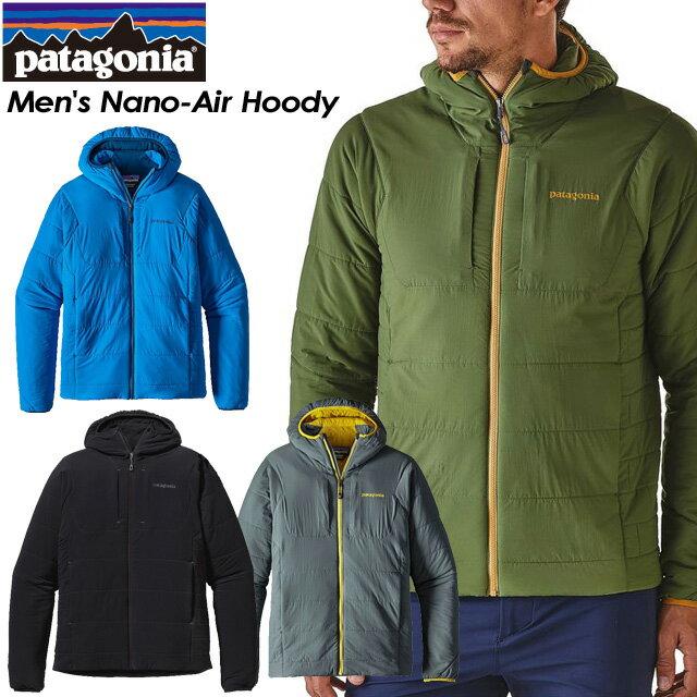 ◆SALE30%OFF!送料無料◆ 【patagonia】パタゴニア 【Men's Nano-Air Hoody】メンズ ナノエア フーディ スキー スノーボード バックカントリー クライミング アウトドア84260