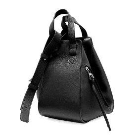 【新品・当店売れ筋・最安値・即発】LOEWE ロエベ 387.30.S35 BLACK ハンモックスモールバッグ