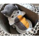 ニャンコ先生 変身着ぐるみ S M L XL 超小型犬〜小型犬 犬服 猫服 コスプレ コート 2L LL