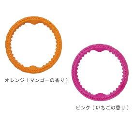 ボンビアルコン フルーツリング S オレンジ・ピンク 犬用 おもちゃ 小型犬・中型犬・大型犬