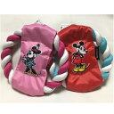 スリーアローズ Disney フリスビートイ ミッキー・ミニー コットンロープ 犬用 おもちゃ TOY