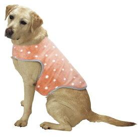 マルカン スーパーホットベスト LL (5L・6L・7L) 大型犬用 犬服 ゴールデンレトリバー・ラブラドールレトリーバー・ダルメシアン・コリー等 防寒 コート