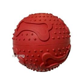 プラッツ ボーンプリントボール L 中型犬・大型犬用 TOY おもちゃ