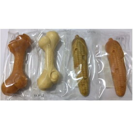 ドギーマン カムカム デンタル コーン S チキン味・ミルク味・青りんご味・マンゴー味 4種セット 超小型犬〜小型犬 犬用 おもちゃ TOY コーン かんでる