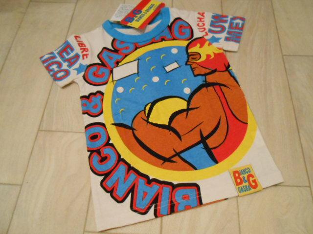 【50%OFF】【半額】【SALE】【GASBAG】ガスバッグ【B&G】2013新作 ルチャプリント 半袖Tシャツ 【メール便可OK】