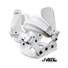 JOBG160-WHT 【JOYRIDE】【送料無料】ジュニア キッズ スノーボード メンズ レディース ユニセックス バインディング ■Fサイズ フリー 格安 ビンディング