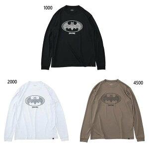 SMT191360 Tシャツ バスケットボールウェア L/S Tシャツ バットマン ダマスクロゴ / L/S Tシャツ-バットマン ダマスクロゴ | 正規品 SPALDING スポルディング バスケットボール バスケ 練習着 メンズ