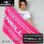 O'NEILL×FINEコラボタオル8779ピンク