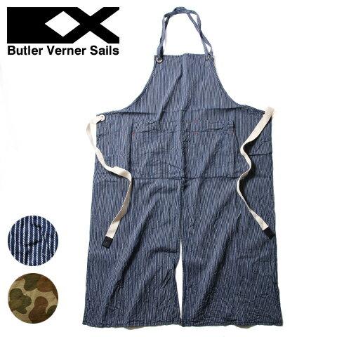 【エプロン ユニセックス】日本製 エンジニア エプロン 国産 アウトドア ガーデニング ギフト Butler Verner Sails バトラーバーナーセイルズ