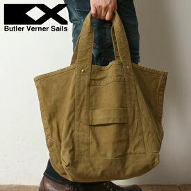 【特典対象】Butler Verner Sails(バトラーバーナーセイルズ)日本製反応染キャンバストートバッグ